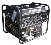 Бензиновый генератор Hyundai HHY 7000FE ATS + колеса со счетчиком моточасов KOR