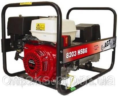 Бензиновый генератор AGT 8203 HSBE TTL MTG