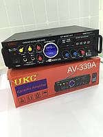 Усилитель звука UKC AV-339A. Только ОПТОМ! В наличии!Лучшая цена!