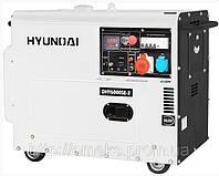 Генератор дизельный Hyundai DHY 6000SE-3 + колеса