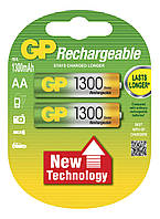 Аккумулятор бытовой GP 130ААHC-U2 Ni-MH R6 (АА, 1,2V, 1300mAh)