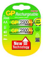 Аккумулятор бытовой GP 250ААHC-U2 Ni-MH R6 (АА, 1,2V, 2500mAh)