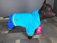 Велюровый костюм Dogs Bomba 30см для собак D-15 размер-4(S)