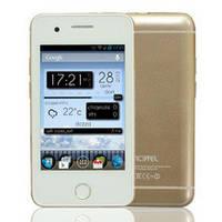 Стильный недорогой смартфон YESTEL T6(Iphone 6mini), 2 сим, 3,5 дюйма, Android. Отличное качество. Код: КДН44