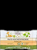Мыло косметическое Облепиха и липа 75г Зеленая аптека