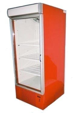 Шкаф холодильный среднетемпературный  ШХС-0.5 со стеклянной дверью, лайт боксом и автооттайкой