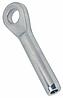 Нержавеющий наконечник с обухом для леерного ограждения