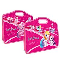 Портфель А4+ на липучке, на 1отд. My Little Pony