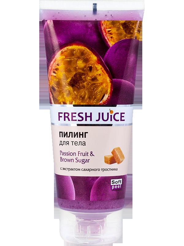 Пілінг для тіла Passion Fruit&Brown Sugar 200мл Fresh Juice