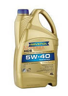 SAE 5W-40 олива моторна Ravenol HCS (4 л)