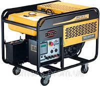 Однофазный Бензогенератор Kipor KGE12E ном. мощность 8,5 КВт, 230 В, бак 25л, 550гр/кВтч, ел. старт, 155 кг