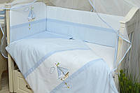 Бампер для детской кроватки Морячок