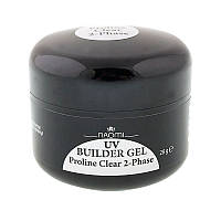 Двухфазный гель Naomi UV Builder Gel Proline Clear 2-Phase, 28 гр.