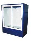 Шкаф холодильный среднетемпературный АйсТермо ШХС-1,4 с раздвижными стеклянными дверьми и автооттайкой