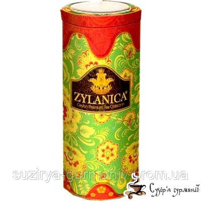 Черный чай Zylanica Красная свеча PEKOE ж/б 100г, фото 1