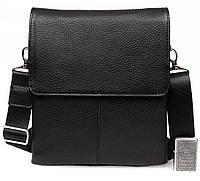 Качественная кожаная мужская сумка в киеве 23x26x5,3см.