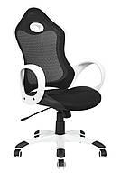 Кресло Матрикс-1 Черный, сиденье Сетка черная/спинка Сетка серая, фото 1
