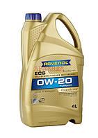 0w-20 олива моторна Ravenol ECS (4 л)