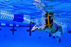 Трубка для плавання Finis Glide Snorkel Orange Sunset Sr 1.05.002.115.50, фото 2