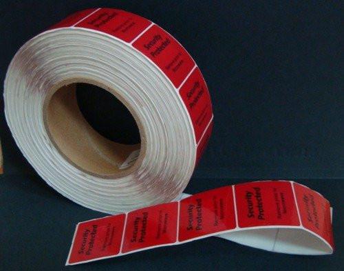 Защитная этикетка 4х4, 8.2 Мгц, для заморожен. продуктов (1000 шт).