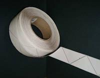 Защитная этикетка, 4x4 (1000 шт), треугольная, белая