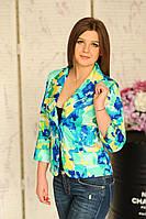 Модный женский пиджак в нал.46,48