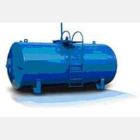 Стальной одностенный резервуар для хранения светлых нефтепродуктов (ГСМ)