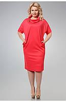 Модное элегантное платье 50-56 р., фото 1