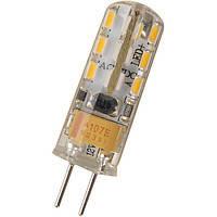 Лампа капсульная LED EUROLAMP G4 2W 3000K 220V