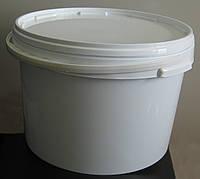 Пластиковое ведро круглое 15,7л герметичное, с контрольной пломбой, ручкой и крышкой