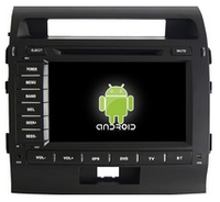 Автомобильный  dvd-плеер для Toyota Land Cruiser 200 с GPS /Андроид/ радио / RDS / Bluetooth / wi-fi / SWC