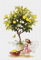 Luca-S Набор для вышивки крестом Лимоны В1111