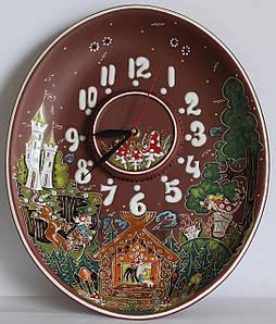 "Часы настенные овальные ""Сказка"""