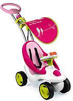"Детская каталка ""Bubble Go Neo"" розовая Smoby 413001"