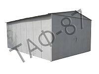 Гараж металлический 7х4,7х2,7 разборной 2,0 мм, фото 1