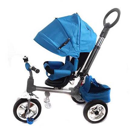 Детский трехколесный велосипед М 3112-1 синий, фото 2