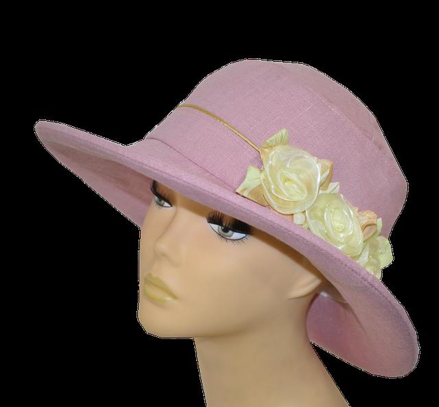 Шляпа Магия розовая