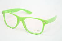 Очки для стиля зеленые, фото 1