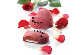 """Набор форм для мороженого """"Сердце"""" Silikomart"""