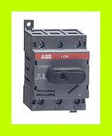 Выключатель нагрузки OT80F3 ABB 80А 3-полюсный