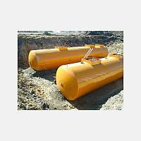 Резервуары стальные двухстенные для хранения ГСМ