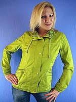 Женская весенняя, летняя ветровка JANICA 526, XL-6XL (куртка: 100% хлопок) Ylanni, Janiсa, Mishele, Symonder