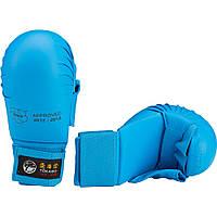 Перчатки для карате Tokaido Blue с защитой большого пальца