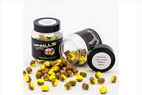 Бойлы Орех и желтая ягода Инь - Янь с нейтральной плавучестью CarpBalls 10mm