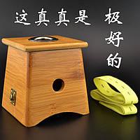 Аппарат из бамбука на одно отверстие для Мокса прижигания (для сигар)