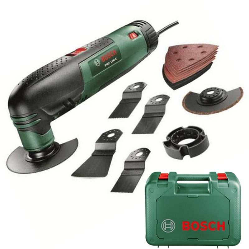 Многофункциональный инструмент (реноватор) Bosch PMF 190 E Set, 0603100521