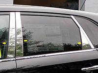 Хром накладки треугольные Kia Sorento 2009-2013