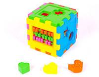 Логический куб - сортер со счетами 50-201