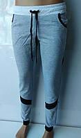 Спортивные брюки с манжетами женские