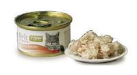 Брит Кер с куриной грудкой, 80гр, консервы для кошек, суперпремиум